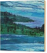 Stonington Sideways Wood Print