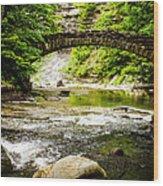 Stony Brook State Park Wood Print