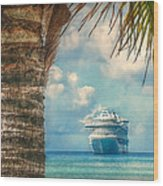 Stopover In Paradise Wood Print