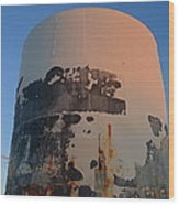 Storage Container Moon Coolidge Arizona 2004 Wood Print