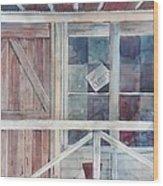 Store At War Eagle Wood Print