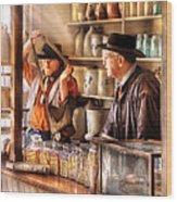 Store - The Messenger  Wood Print