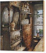 Store - Turn Of The Century Soda Fountain Wood Print