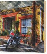 Storefront Weston Tobacco Wood Print