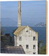 Storehouse Alcatraz Island San Francisco Wood Print