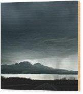 Storm At Admore Wood Print