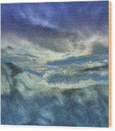 Storm Brewing Wood Print by Jack Zulli