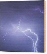 Storm Chase Six Twenty Eight Thirteen Wood Print