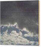 Storm Cloud Overhead Wood Print