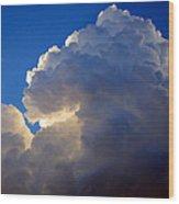 Storm Clouds 3 Wood Print
