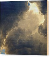 Storm Clouds 6 Wood Print