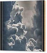 Storm Clouds  Wood Print by Vincent Dwyer
