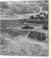 Storm Coming Wood Print by Jon Glaser