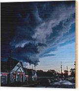 Storm Cover Wood Print