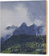 Storm In The San Juan Mountains Wood Print