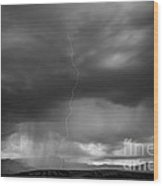Storm Over Kelly Wood Print