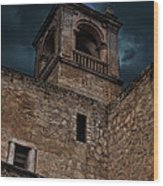 Storm Over The Alcazaba - Antequera Spain Wood Print