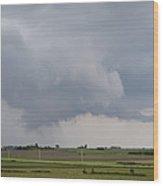 Storm Prologue Wood Print
