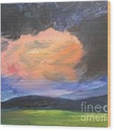 Stormchaser Wood Print by PainterArtist FIN