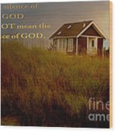 Storms Of Life Wood Print by Beverly Guilliams