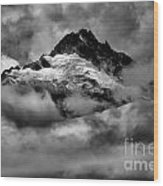 Storms Over Tantalus Wood Print