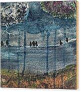 Stormsong Wood Print