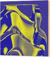 Stormtrooper Helmet 8 Wood Print