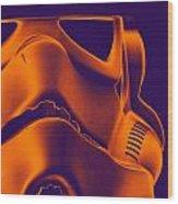 Stormtrooper Helmet 9 Wood Print