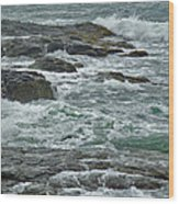 Stormy Day In Rhode Island Wood Print