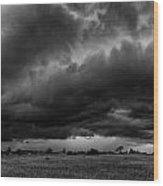 Stormy Days Wood Print