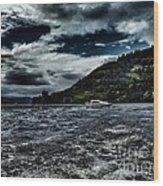 Stormy Loch Ness Wood Print
