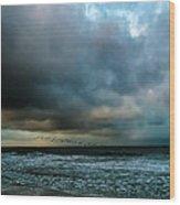 Stormy Monday Wood Print