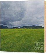 Stormy Sky Above Castlerigg Stone Circle Wood Print