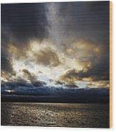 Stormy Sky Wood Print