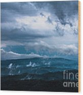 Stormy Weather Wood Print