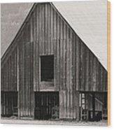 Story Of The Barn Wood Print