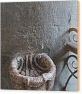 Stoup In Catholic Church Wood Print