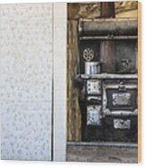 Stove Wood Print