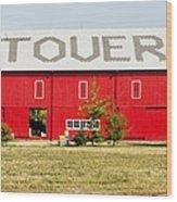 Stovers Farm Market Berrien Springs Michigan Usa Wood Print