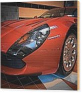 Stradale By Zagato Wood Print