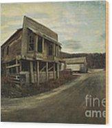 Straits Auction House Wood Print