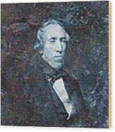 Strange Fellow 1 Wood Print by James W Johnson