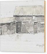 Strang's Barn Wood Print