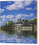 Stranhan House Centennial Wood Print