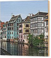 Strasbourg France Wood Print