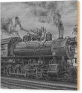 Strasburg Rail 475 In Hdr Wood Print