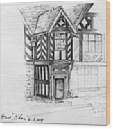 Stratford House Wood Print