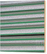 Straw Green Wood Print
