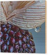 Strawberry Corn Wood Print