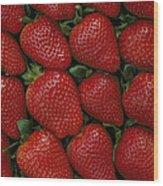 Strawberry Flats Wood Print